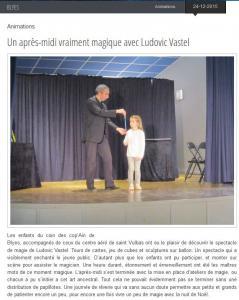 Journal La côtière 24-12-15