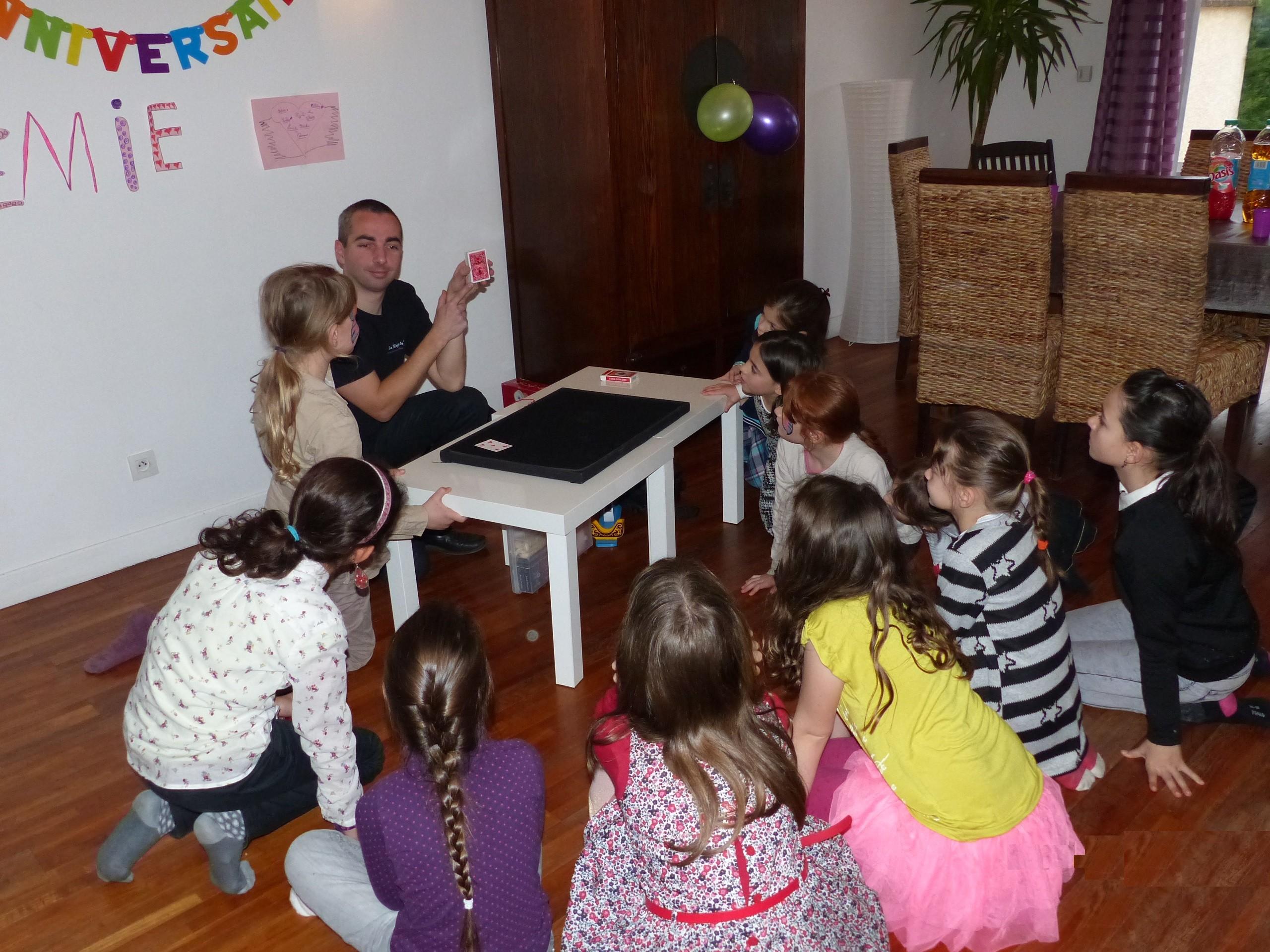 Magie anniversaire enfants